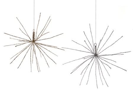 LED Starburst, Set of2, 2 Asst.