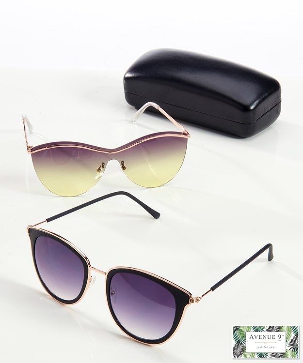 Avenue 9 Tropical Retreat, Sunglasses with Case and Cloth