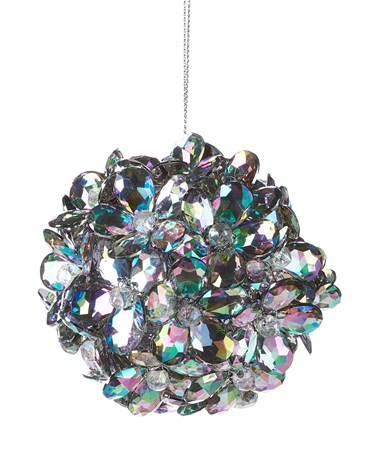 Acrylic Flower Ball Ornament