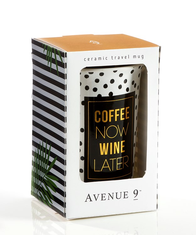 Avenue 9 Tropical Retreat, Ceramic Travel Mug