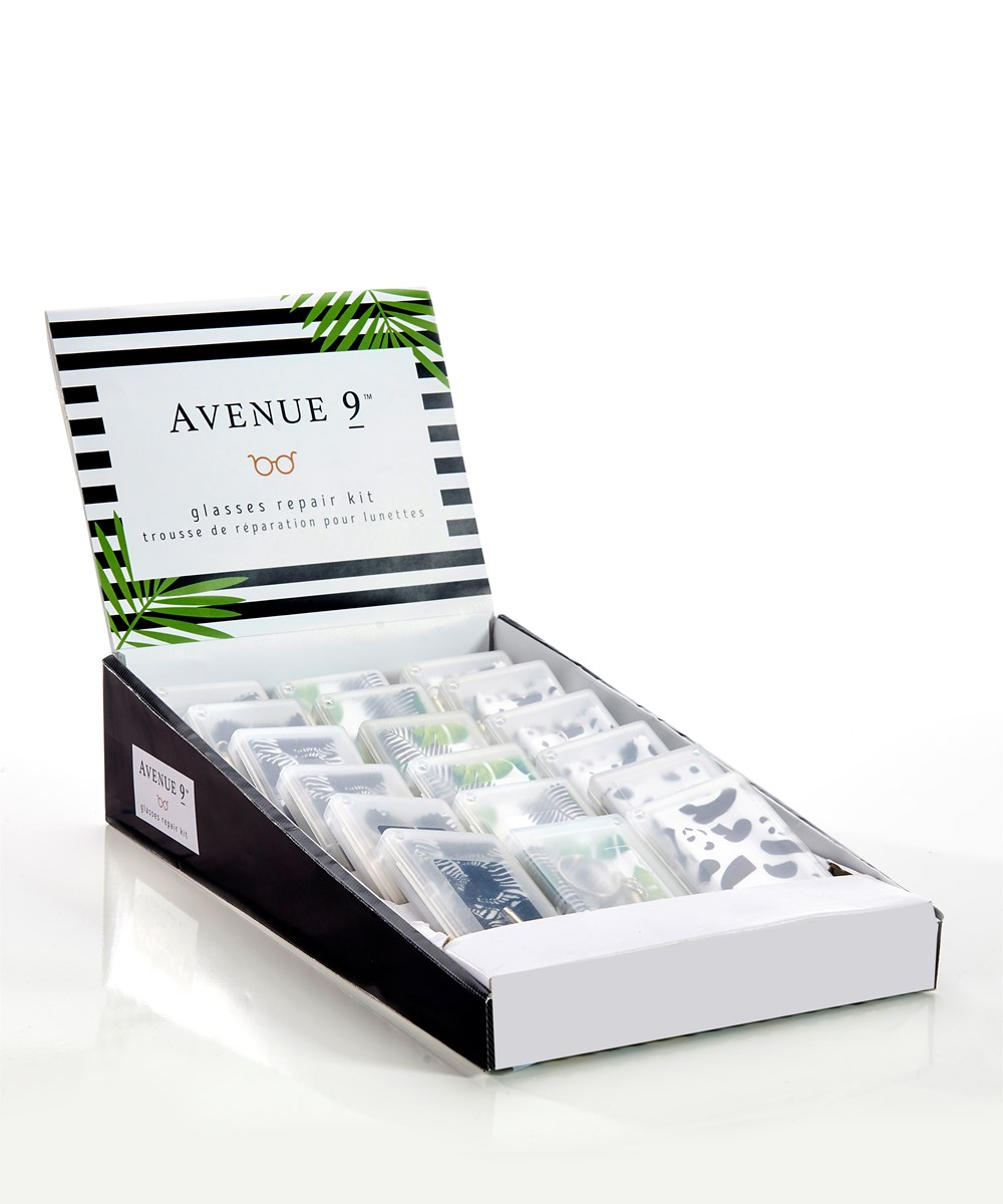 Avenue 9 Tropical Retreat, Glasses Repair Kit w/Displayer