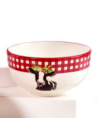 Cow Design Bowl