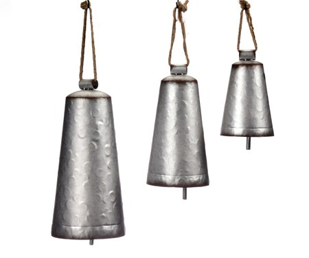 Metal Bells', Set/3