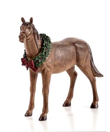 Polystone Horse Figurine