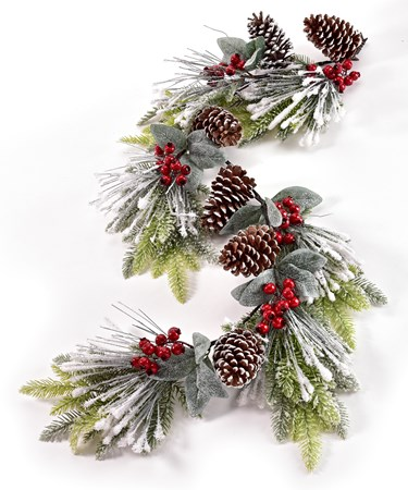 Plastic Christmas Garland