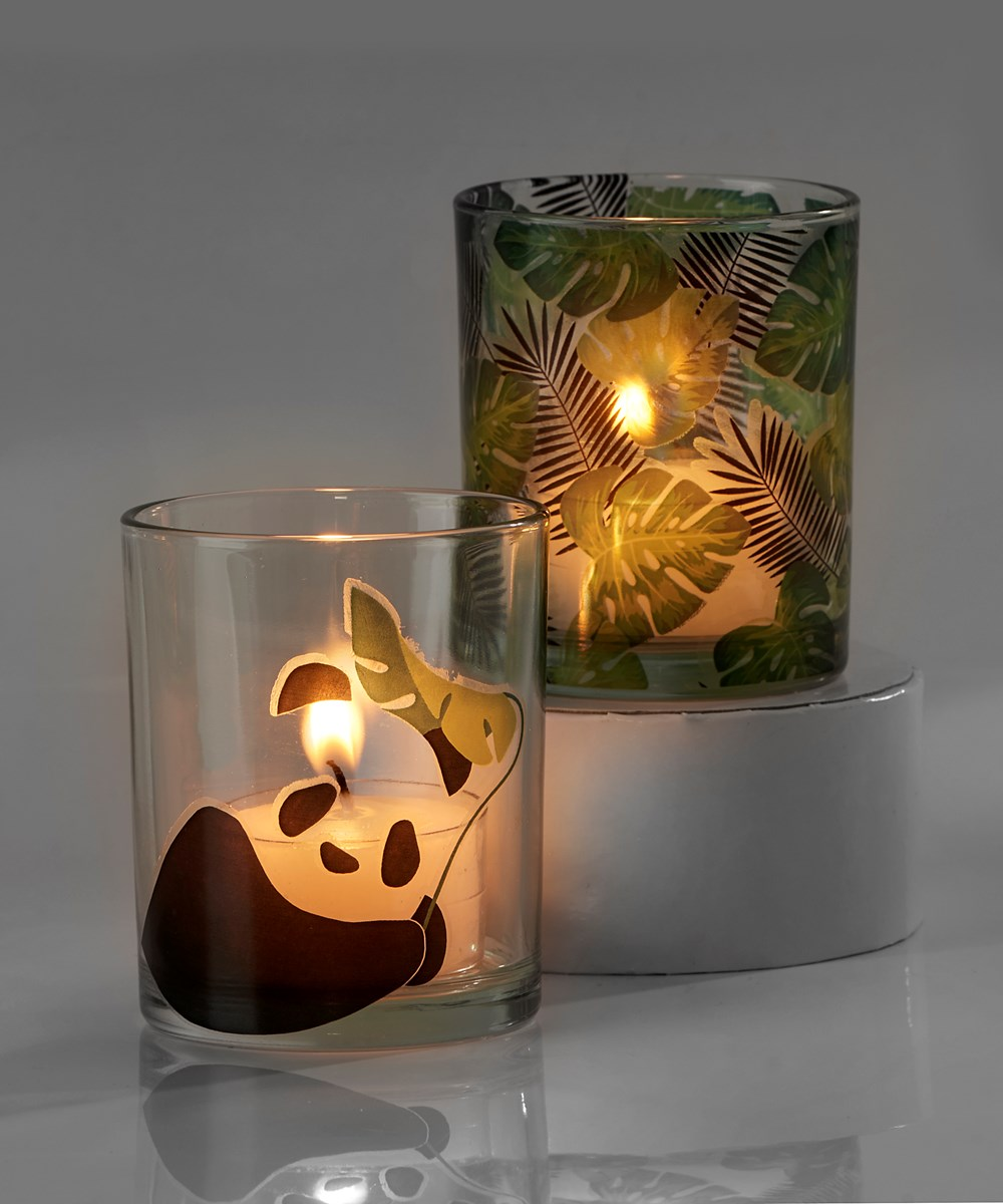 Avenue 9 Tropical Retreat, Votive Candle Holder, 2 Asst w/Displayer