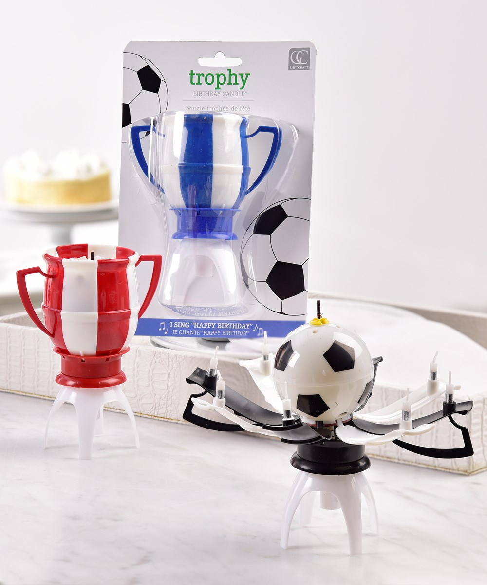 Trophy Musical Birthday Candle