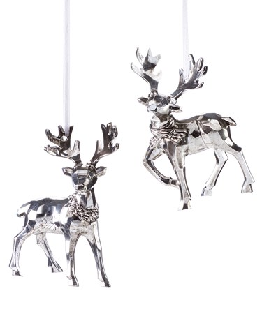 SilverPlatedReindeerOrnament2Asst