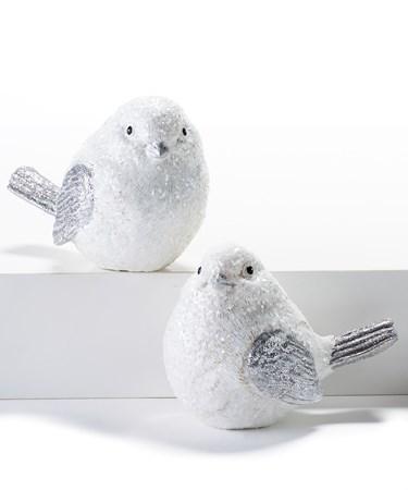Poly Resin Bird, 2 Asst.