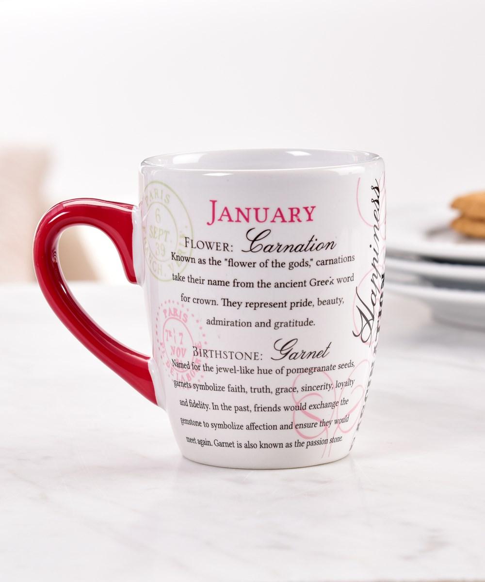 January Ceramic Mug