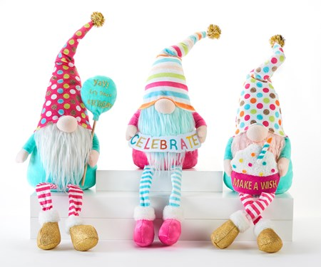 BirthdayGnomeShelfSitter3Asst