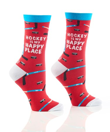 WomensCrewSockHappyPlace