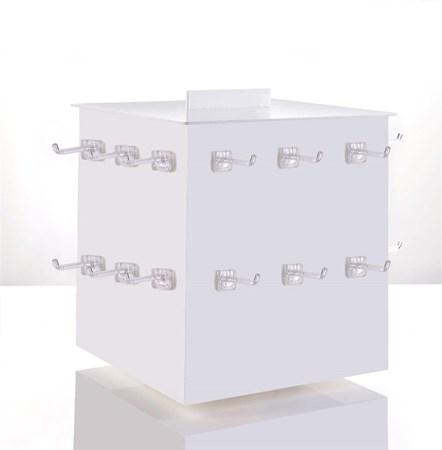 Acrylic 4-Side Turning Display