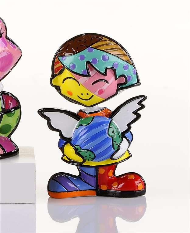 Britto Miniature Cheryl School Girl Figurine