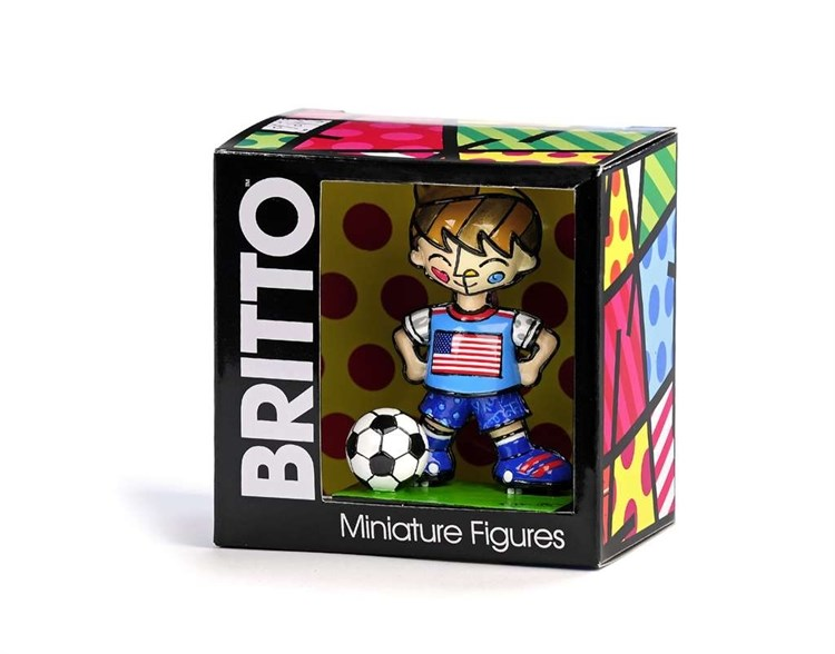 Britto World Cup Soccer Player Figurine, England