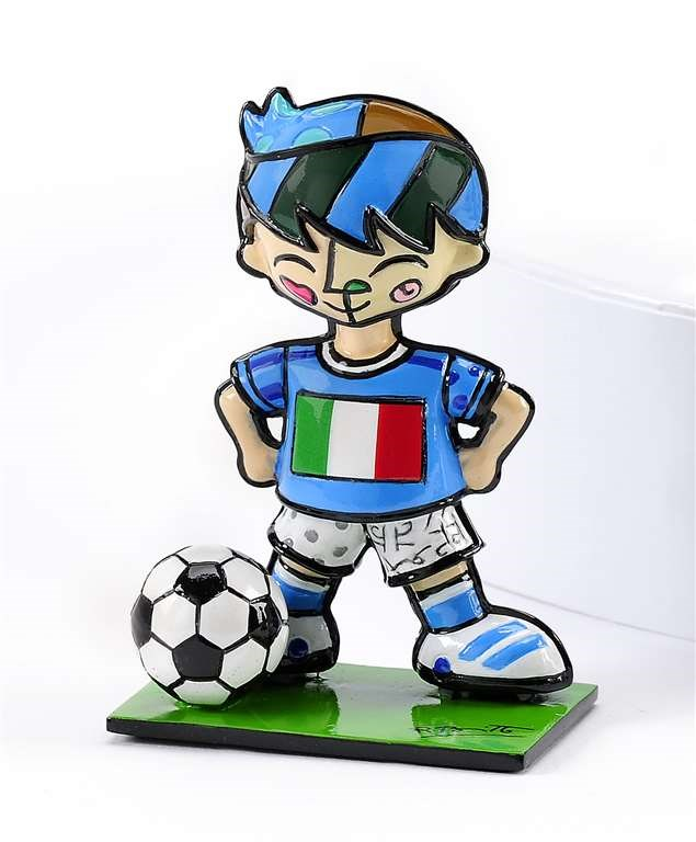 Britto World Cup Soccer Player Figurine, Italy
