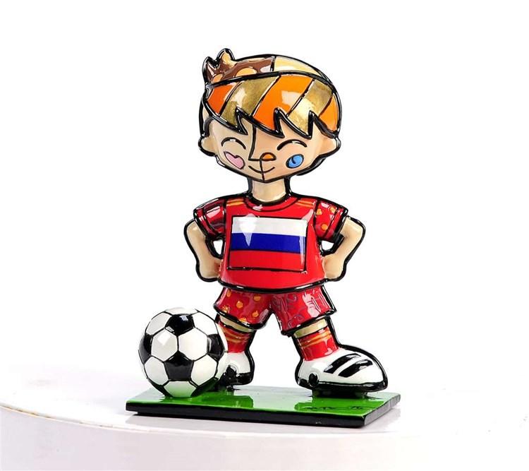 Britto World Cup Soccer Player Figurine, Russia