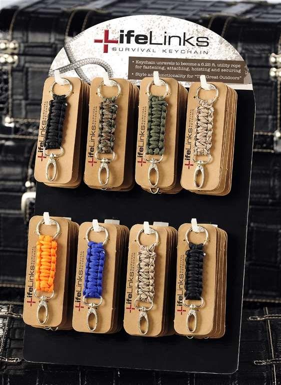 Life Links Keychains, 72 Asst.