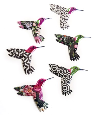 HummingbirdWallDecor6Asst