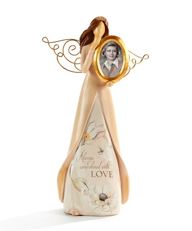 Angel Figurine w/Photo Frame