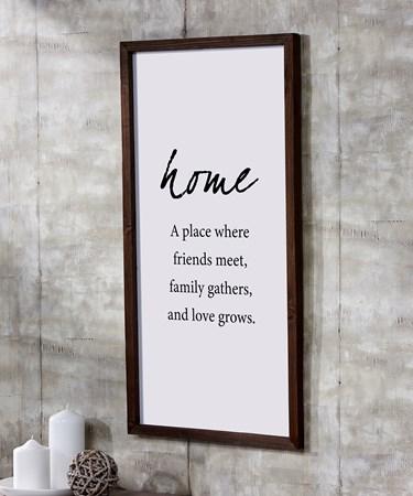 HomeWallSign