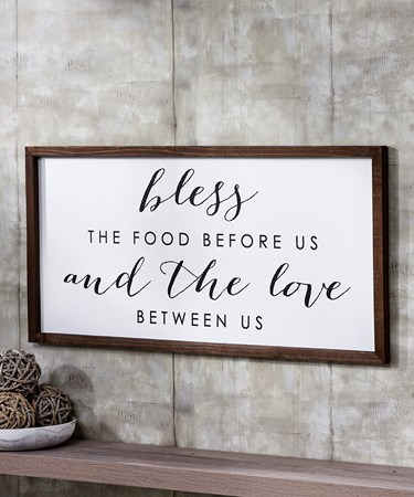 Blessing Wall Sign