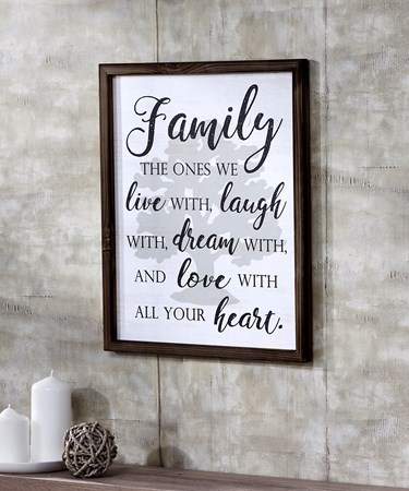 Family Wall Décor