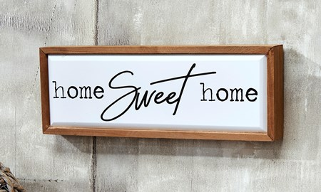 Sweet Home Wall Sign