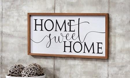 HomeSweetHomeWallSign