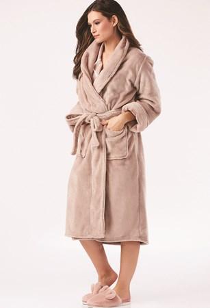 Charlie Paige, Cuddle Me Velour Robe, 3 Asst.