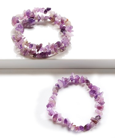 Amethyst Bracelet w/Displayer