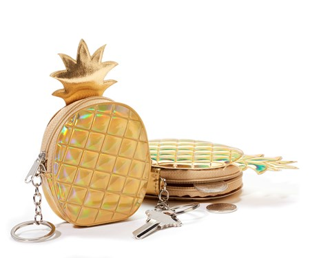 Pineapple Coin Purse w/Displayer