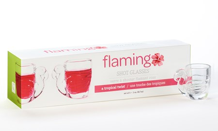 Flamingo Shot Glass