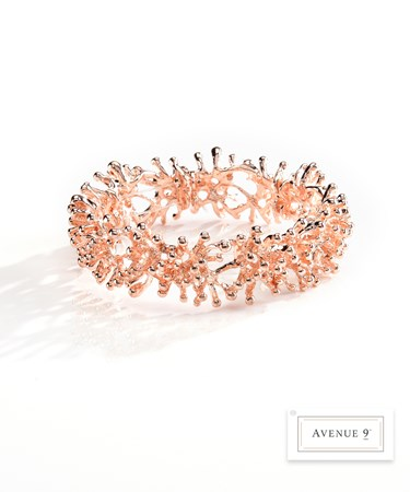 CoralDesignStretchBracelet