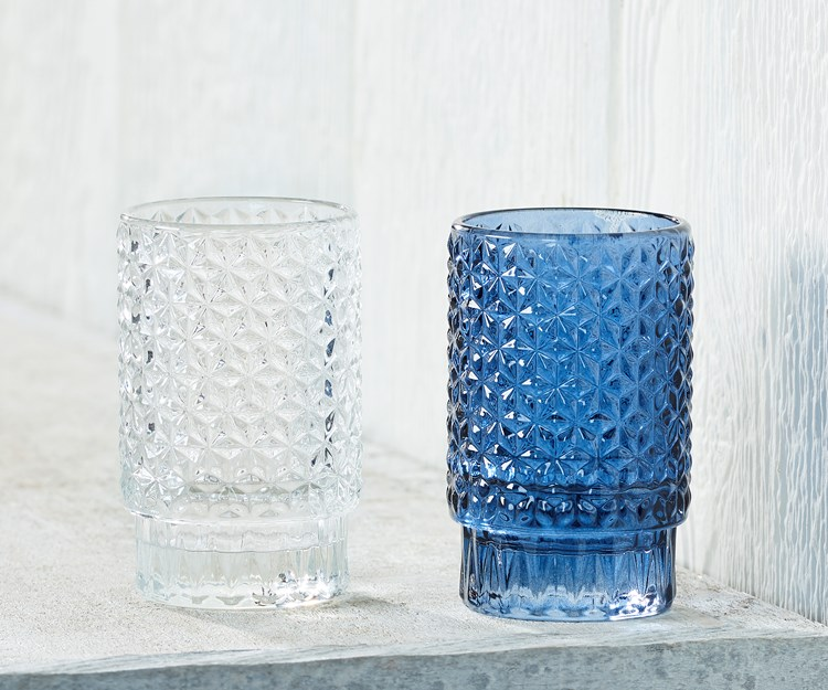 GlassCandleHolder2Asst