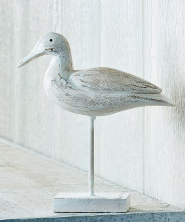 White Duck on Stand