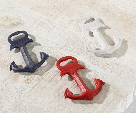 Anchor Design Bottle Opener, 3 Asst.