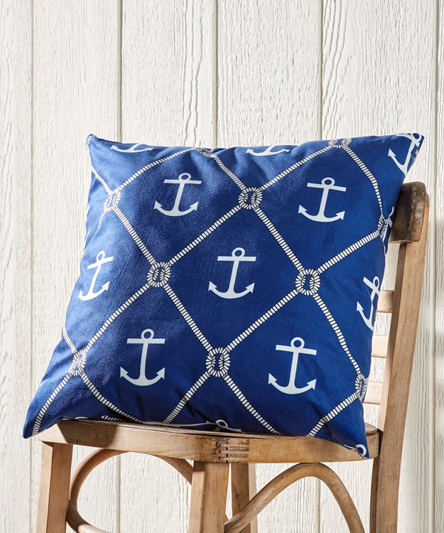 AnchorPatternThrowPillow