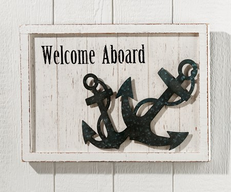 WelcomeAboardWallPlaque