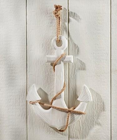 Hanging White Anchor