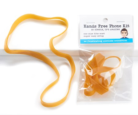 Rubber Band Cellphone Kit w/Displayer