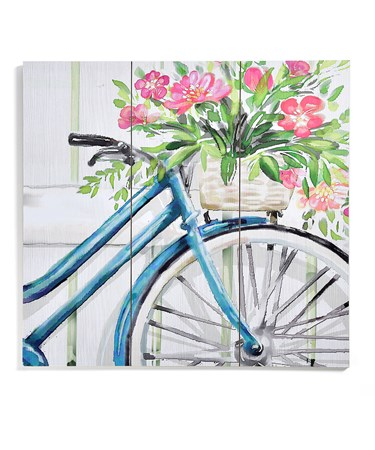 Bike Wall Plaque