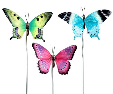 ButterflyGardenStakes3Asst