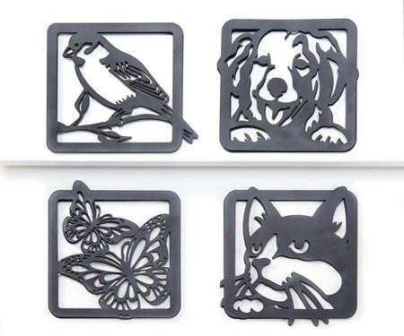 Animal Screen Magnet, 4 Asst.