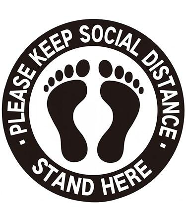 SocialDistancingFloorDecalsPk6