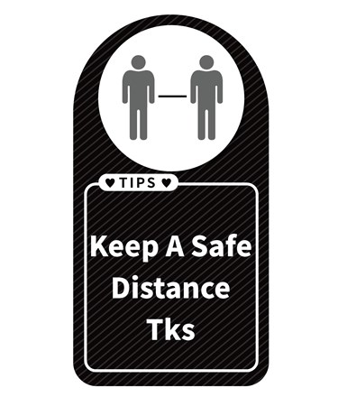 SafeDistanceWallSign