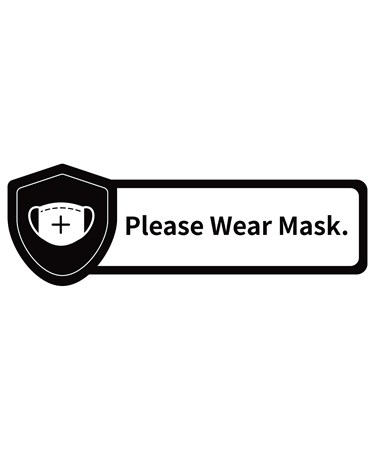 WearMaskWallSign