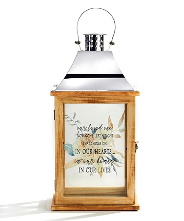 Wood Candle Lantern