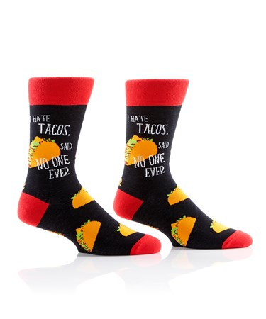 MensCrewSockTacoLover
