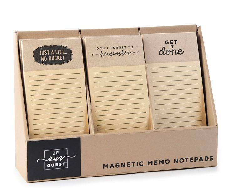 MagneticShoppingNotePad3Asst